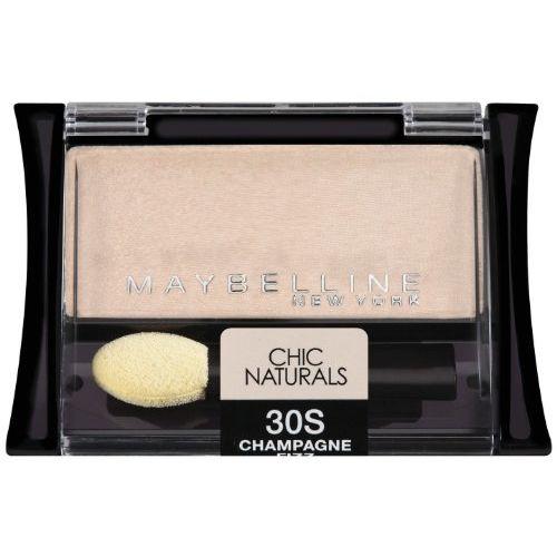 Maybelline New York Expert Wear Eyeshadow Singles 30s Champagne Fizz Chic Naturals, 2.55g