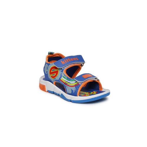 Kittens Boys Blue Comfort Sandals