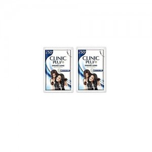 Clinic Plus Strong & Long Shampoo, 3ml Sachet - Pack of 128