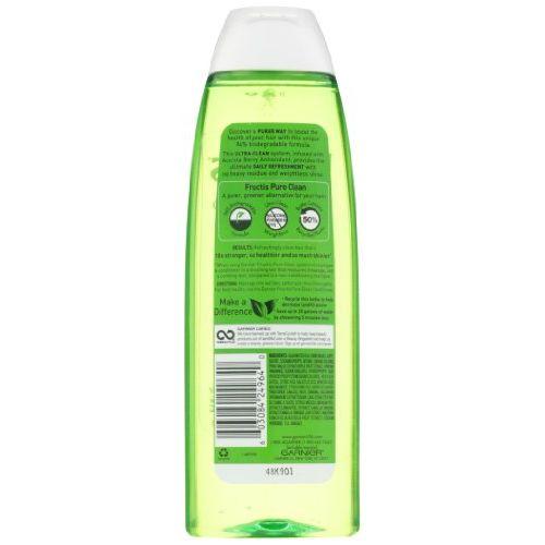 Garnier Fructis Pure Clean Shampoo, 384ml