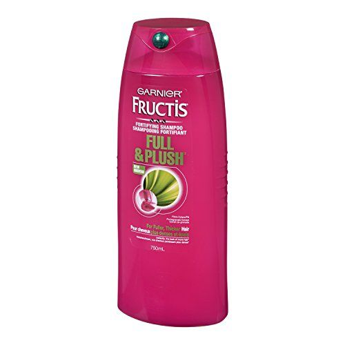Garnier Hair Care Fructis Full & Plush Shampoo, 25.4 Fluid Ounce