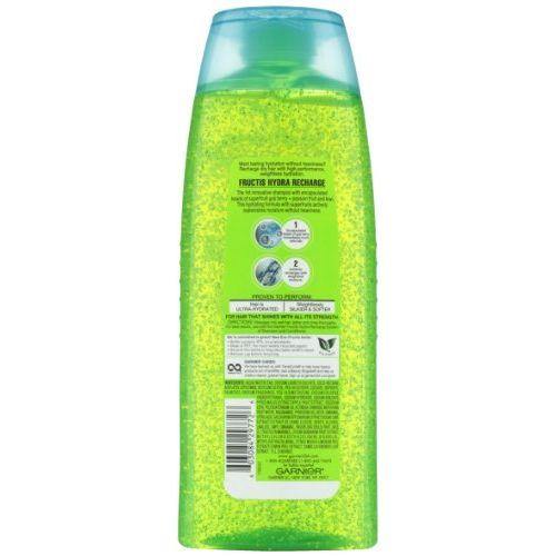 Garnier Fructis Hydra Recharge Shampoo for All Hair Types, 25.4 Fluid Ounce