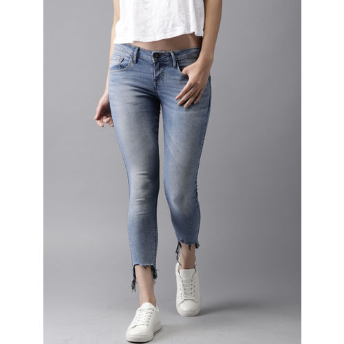 Moda Rapido Blue Denim Skinny Fit Stretchable Jeans