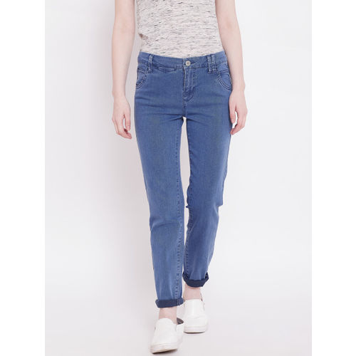 OVS Women Blue Skinny Fit Mid-Rise Clean Look Stretchable Jeans