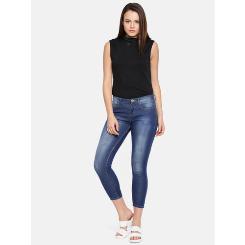 Jealous 21 Women Blue Regular Fit Mid-Rise Clean Look Stretchable Jeans