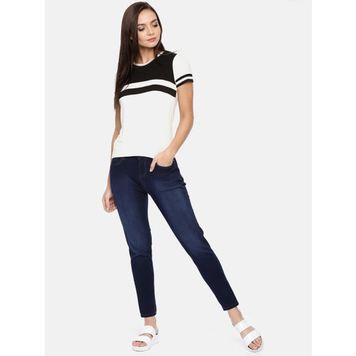 Jealous 21 Women Blue Slim Fit Mid-Rise Clean Look Stretchable Jeans