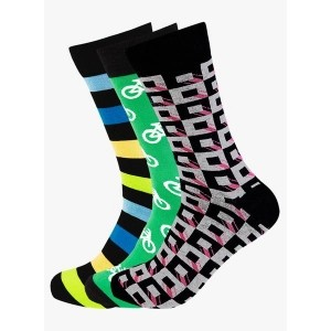 Supersox Pack Of 3 Multicoloured Socks