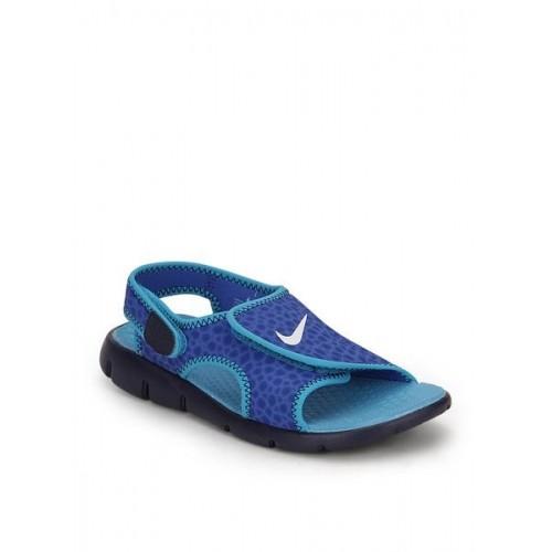e2e05b342eda Buy Nike Sunray Adjust 4 (Gs Ps) Blue Sandals online