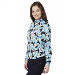 Chumbak Tea Garden Women's Basic Shirt