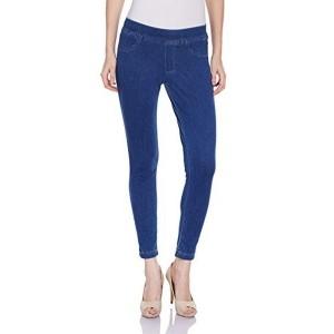 UCB Women's Blue Slim Fit Jeggings