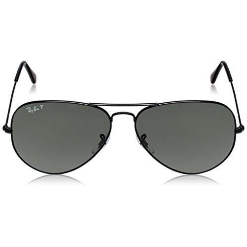 ab4486b8c4c Buy Ray Ban Black Metal Aviator Sunglasses For Men online