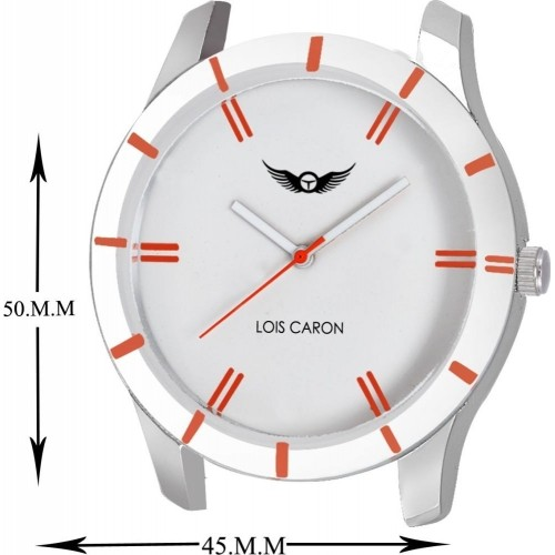 Lois Caron LCS-4033 Brown Leather Solid Analog Watch For Men
