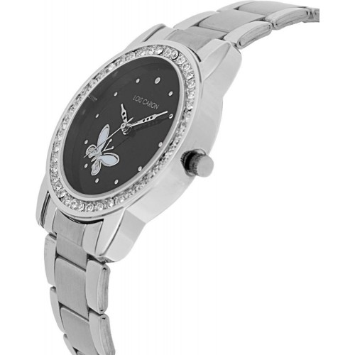 fafb1caaf58 Buy Lois Caron LCY-5512 Silver Analog Watch For Women online ...