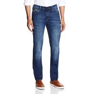 LeeBlue Cotton Solid Men's Skinny Fit Jeans