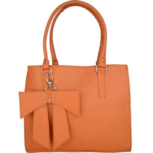 ARV Orange Solid Casual Shoulder Bag