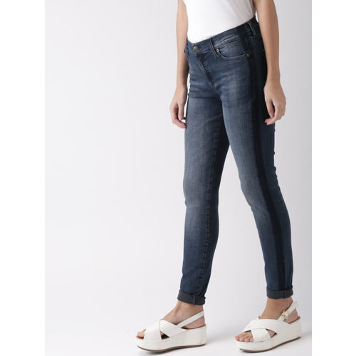 106a0e8f ... Tommy Hilfiger Women Blue Nora Skinny Fit Low-Rise Clean Look  Stretchable Jeans ...