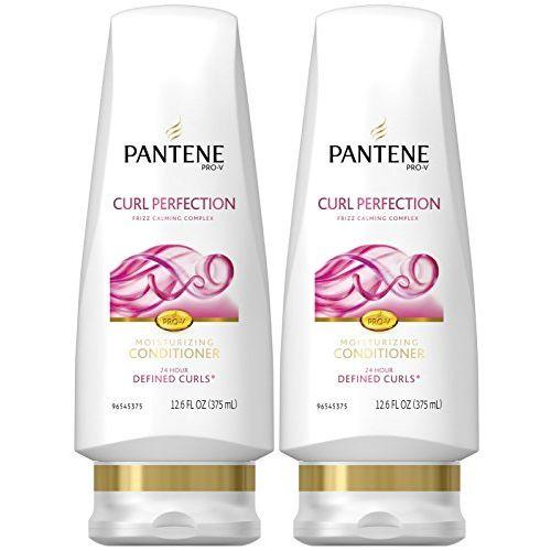 Pantene Pro-V Curly Hair Moisture Renewal Conditioner, 12.6 oz, 2 pk