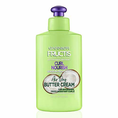 Garnier Hair Care Fructis Triple Nutrition Curl Moisture Leave-In Conditioner 10.19 Fluid Ounce