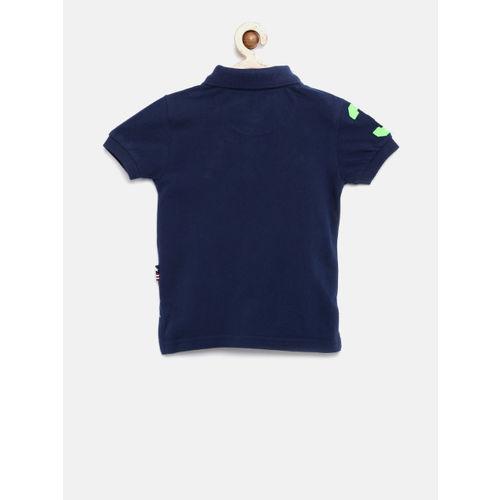 U.S. Polo Assn. Kids Boys Navy Polo T-Shirt