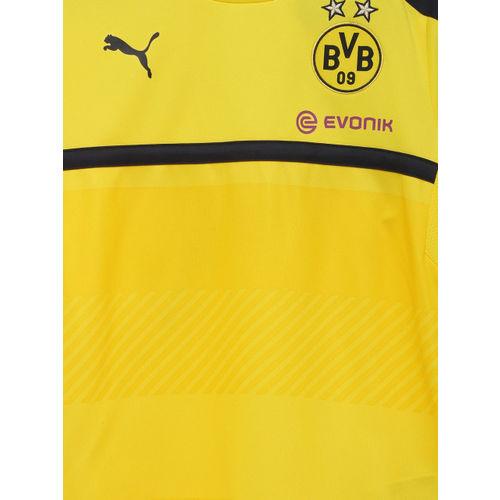 get cheap fc533 35ccd Buy Puma Boys Yellow & Black BVB Training Jersey DryCell T ...