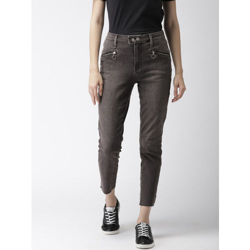 Levis Women Black 721 Skinny Fit High-Rise Clean Look Stretchable Jeans