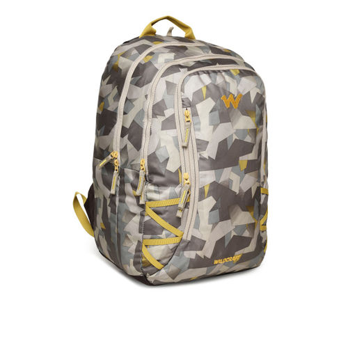 Wildcraft Brown Camouflage Print Wc5 Backpack