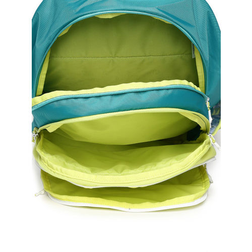 Wildcraft Unisex Yellow & Blue WIKI 6 Graphic Backpack