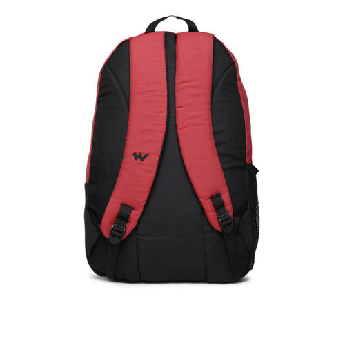 Wildcraft Unisex Red Colourblocked Backpack