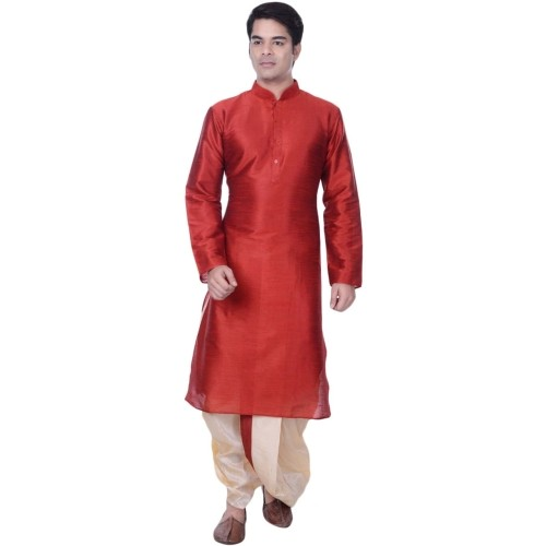 Larwa Men Dhoti & Kurta Set