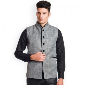 Wintage Grey Nehru Jacket