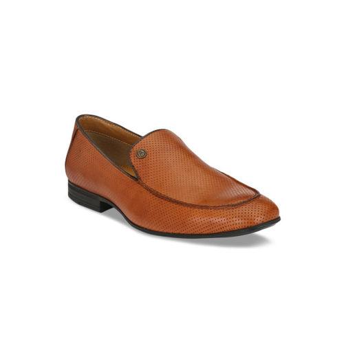 Alberto Torresi Men Brown Leather Formal Loafers