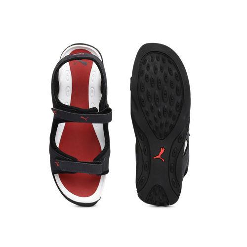 Puma Men Charcoal Grey Jimmy Sports Sandals