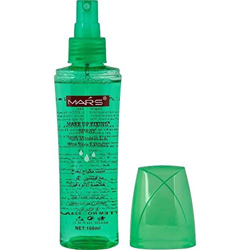 Mars Longlasting Make Up Fixer Alovera Primer - 160 ml (aloe green)
