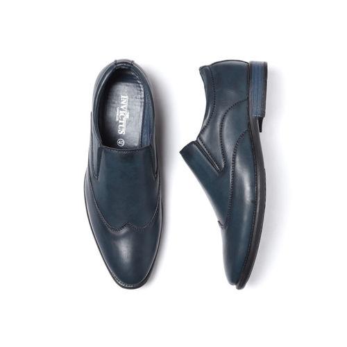INVICTUS Men Navy Blue Semiformal Slip-Ons