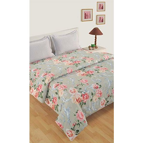 Swayam Cotton Bed Sheet with Pillow Cover