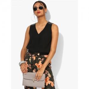 DOROTHY PERKINS Black Embellished Blouse