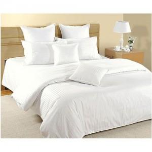 Swayam 350 TC Cotton Double Striped Bedsheet