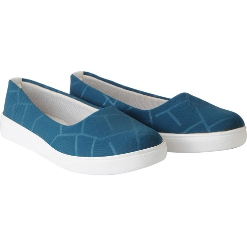 FAUSTO Stylish Blue Slip On Sneakers