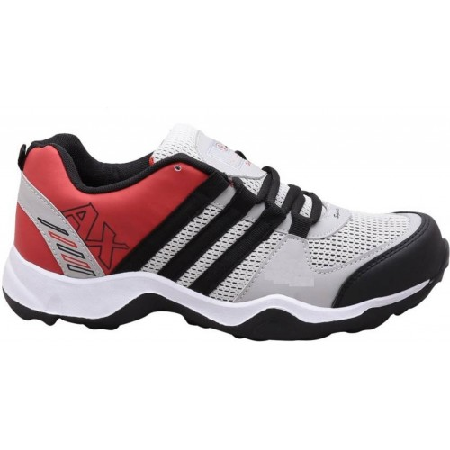 Clymb Dangal Red Grey Training Shoes For Men's