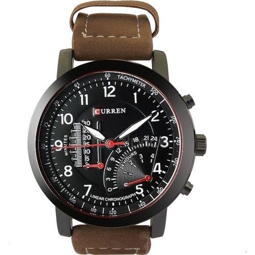 Curren Edition0143 Brown Round Analog Watch