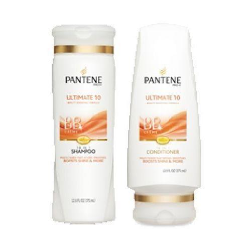 Pantene Pro-v Ultimate 10 Bb Shampoo & Conditioner Set 12.6 Fl Oz Each