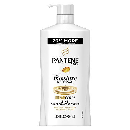 Pantene Pro-v Daily Moisture Renewal 2 In 1 Shampoo & Conditioner, 30.4 Fluid Ounce