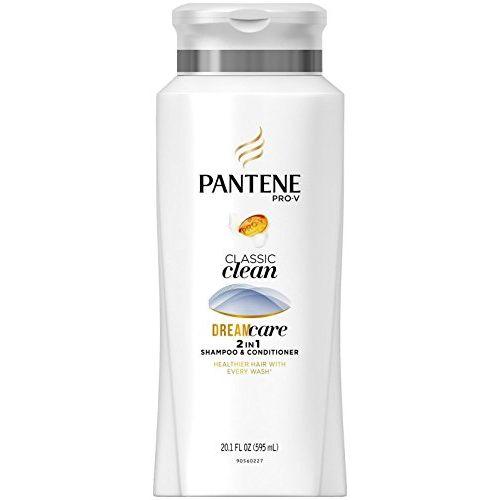 Pantene Pro-v Classic Clean 2 In 1 Shampoo and Conditioner, 20.1 Fl Oz, 1.58 Pound