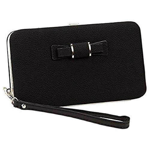 BANQLYN Black Polyurethane Solid Wallet