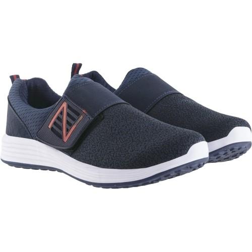 Lancer Navy Blue Mesh Sports Shoes