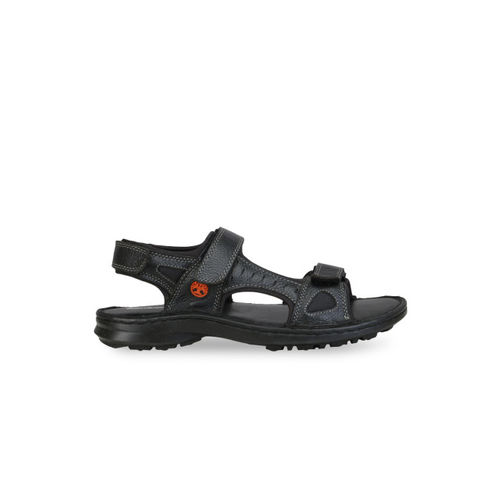 272a2c6563d8 Buy Ventoland Men Black Leather Sandals online