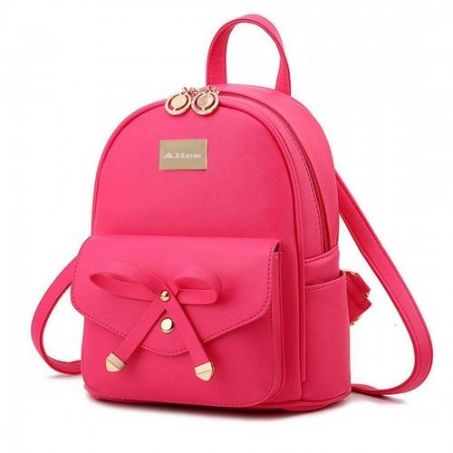 Redlicchi Cute Mini PU Leather Backpack