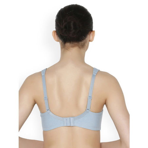 Triumph Blue Lace Underwired Non Padded Everyday Bra 7613142658119