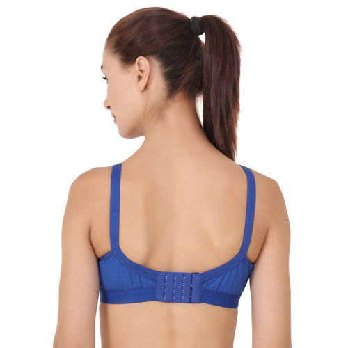 Floret Blue Pack of 2 Solid Non-Wired Non Padded Everyday Bras CrossFit_Sky-Blue