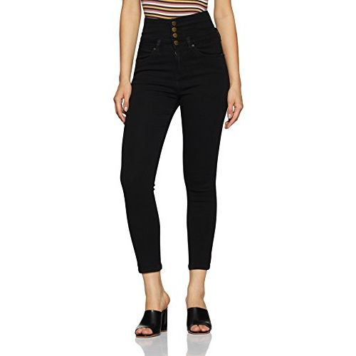 AKA CHIC Women's Regular Rise Skinny Jeans
